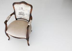 odniowione krzesło