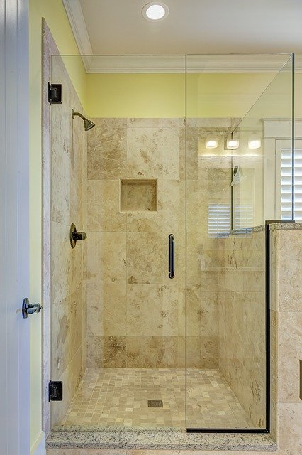 prysznic szklany