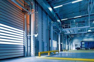 bramy przemysłowe rolowane
